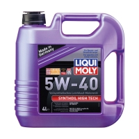 Моторное масло LIQUI MOLY Synthoil High Tech 5W40, 4л